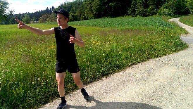 Lauftraining als Radsportler ist nicht einfach. Waden und Achillessehnen sind schnell überlastet..