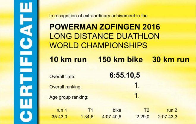 Powerman Zofingen 2016 Longdistance Diplom
